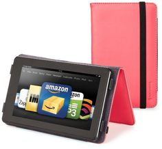 Fire Tablet Accessories  Marware EcoVue for Kindle Fire Pink -- Click the VISIT button to enter the Amazon website