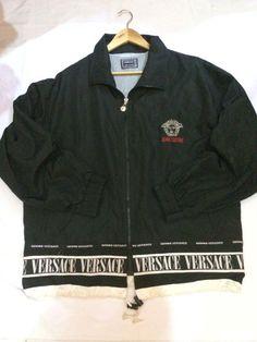 Hip-Hop Big Logo Versace manteau coupe-vent vintage de par fswlo