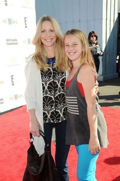 "Like mother, like daughter! Lauralee Bell (Christine) and daughter Samantha both looked quite stylish at the P.S. Arts ""Express Yourself"" event in Santa Monica, Calif., on November 11th. P.S. Arts supports arts education in public schools."