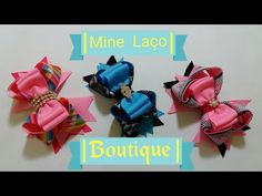 Mine Laço Boutique - YouTube