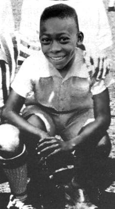Young Edson Orantes ''Pele''