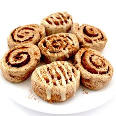 Healthy, 70-calorie cinnamon rolls ready in 30 minutes or less