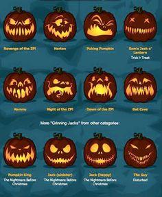The post Fab pumpkin faces! & Halloween appeared first on Pumpkin carving ideas . Diy Halloween, Printable Halloween, Theme Halloween, Holidays Halloween, Halloween Treats, Halloween Pumpkins, Happy Halloween, Zombie Pumpkins, Halloween Office