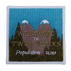 Twin Peaks Welcome To Twin Peaks Patch