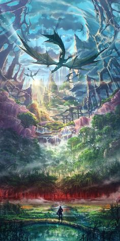 Artworkd from Ys VIII: Lacrimosa of DanaYou can find Fantasy artwork and more on our website.Artworkd from Ys VIII: Lacrimosa of Dana Fantasy Artwork, Fantasy Art Landscapes, Fantasy Landscape, Landscape Art, Beautiful Landscapes, Fantasy Paintings, Fairy Paintings, Fantasy Drawings, Digital Paintings