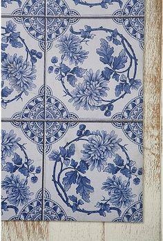Fell in love with these tiles in Amsterdam. Already brought some home. But, I need more, right?