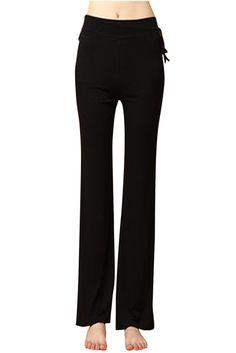 Womens Pants High Hip,Selinora Ladys Casual Fashion Cat Prints Loose Drawstring Yoga Leggings Wide-Leg Pants