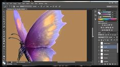 PART 2 Painting in Photoshop CS6 for BEGINNERS by Katherine Rose Barber