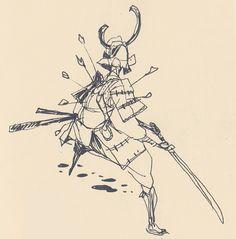 junk gallery | Some samurais