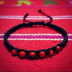🔮Good Luck Huayruro Seeds Black Macrame Bracelet 10% DISCOUNT WHEN BUNDLED! Plus you get a FREE bracelet🌹 | Coachella/raves/Friendship/Weaved/Gypsy/Boho/Rock/Traditional/Ethnic  •Handcrafted bracelet by Peruvian artisans!  •Material: Black macrame NYLON thread & Huayruro seeds from Peruvian Amazon. Double-sided bracelet   •Incas believed the mixture of red & black on the seeds: brings balance,good fortune, abundance while warding off negative energies.  •⚠️Prevent bracelet from getting…