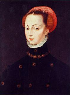 Retrato de doña María de Portugal (?) ANÓNIMO FLAMENCO. Siglo XVI