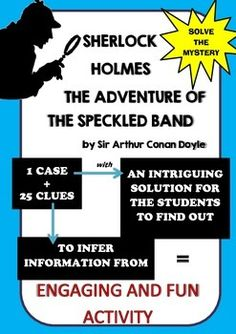 Students work with the Doyles story in a fun and engaging way. It has been written out in the form of clues. There are 25 clues to solve this mystery. Students can get them all at once and then they try to solve the case or you can make it more fun and for example hide the clues around the classroom or them away as some kind of reward I do that when we are reviewing some area we have already covered when the group answer the question (from the area that is being reviewed) correctly they…