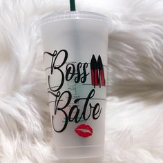 Excited to share this item from my shop: Boss Babe Cup Tumbler Water Bottle Mug Personalized Starbucks Cup, Custom Starbucks Cup, Personalized Cups, Diy Tumblers, Custom Tumblers, Starbucks Crafts, Starbucks Cup Design, Starbucks Water Bottle, Custom Cups