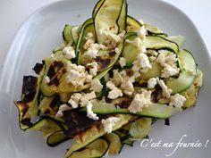 C'est ma fournée ! : Salade de courgettes grillées inoubliable...