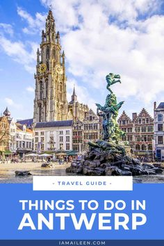 A hidden gem of Belgium, here are the top things to do in Antwerp — the city of diamonds, fashion, culture, and more! // #Antwerp #Belgium Magical Vacations Travel, Vacation Trips, Travel Pics, Travel Pictures, Adventure Awaits, Adventure Travel, Stuff To Do, Things To Do, Travel Belgium