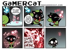 Lol Gamer Cat is such a Cutie!