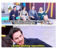 He is the best❤❤ Colin O'Donoghue on Good Morning America.