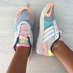 Adidas Stella McCartney Pastel Sneakers Worn only a few times. Breathable mesh upper, really unique! Adidas by Stella McCartney Shoes Sneakers Adidas Originals Sneaker, Adidas Superstar, Adidas Sneakers, Shoes Sneakers, Best Adidas Shoes, Stella Mccartney Adidas, Running Adidas, Running Shoes, Crazy Shoes