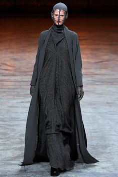 Visions of the Future // Rick Owens Fall 2012 Ready-to-Wear Fashion Show - Marie Piovesan (Viva)
