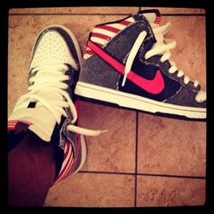 "competitive price 4bf67 7be50 Nike Dunk High Premium SB ""Born in the USA"""