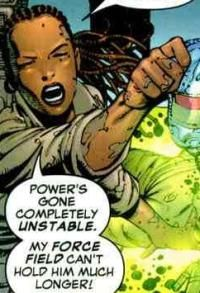 Dr. Cecilia Reyes: Former X-Man. Until succumbing to the Techno-Organic virus, she was searching frantically for a cure.