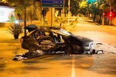#Polícia: Bandidos em fuga bate em carro e mata dois irmãos em São Caetano do Sul, no ABC paulista