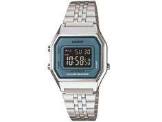 Relógio Feminino Casio Vintage LA680WA-2BDF - Digital Resitente à Água Calendário