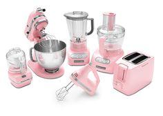 Pink KitchenAid products