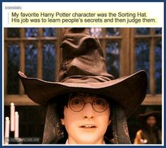 My favorite Harry Potter character…