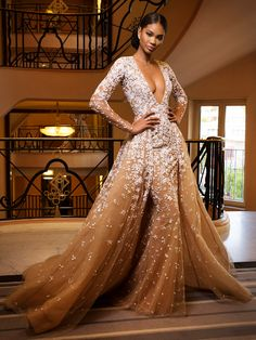 56 new Ideas for fashion dresses formal glamour zuhair murad Evening Dresses, Prom Dresses, Formal Dresses, Wedding Dresses, Robes Glamour, Mode Costume, Tulle, Formal Prom, Beautiful Gowns