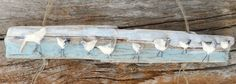 Shorebird Decor, Polymer Clay Shorebirds, Shorebird Wall Hanging, Shorebirds on Driftwood, Coastal Decor, Beach House Decor by LookandSea on Etsy https://www.etsy.com/listing/230452862/shorebird-decor-polymer-clay-shorebirds