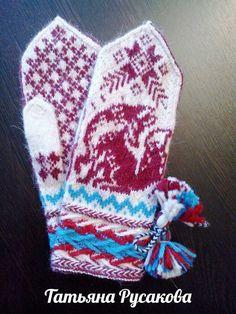 Knit Mittens, Knitting Patterns, Gloves, God, Cross Stitch, Loom Knit, Breien, Dios, Knit Patterns