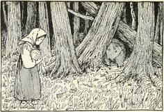 THE BEAR AND THE OLD MAN'S DAUGHTERS - Russian Fairy Tales - Pictures