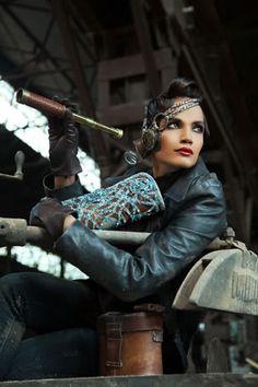 "Pakistani Fashion Designer Ali Fateh's ""Steampunk Elegance"" Collection | Beyond Victoriana"