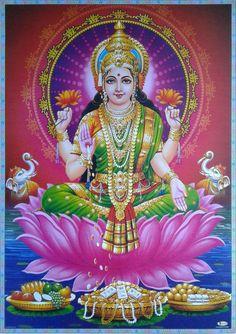 The Lakshmi Kubera Homam is a powerful one as it calls upon two divine godheads that represent wealth and prosperity Saraswati Goddess, Goddess Lakshmi, Durga Ji, Shri Hanuman, Shree Ganesh, Happy Navratri Images, Diwali Pooja, Lakshmi Images, Lakshmi Photos