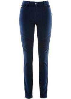 Ελαστικό τζιν με used look Μπλε σκούρο bpc selection bonprix collection | 29.99 € | bonprix