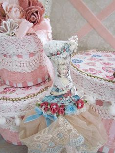 Angela Lace: Decorated Boxes