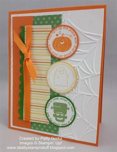 Halloween+Cards+Stuff | Ink : Black Stazon, Cajun Craze, Old Olive