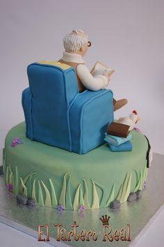 Esta tarta ha sido muy especial. Inma se puso en contacto conmigo hace unas semanas y me comentó que su abuelo Armando cumpliría muy pronto...