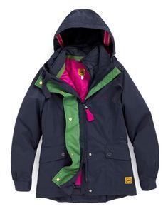 Joules DAKOTA Womens 3 in 1 Multi-purpose Jacket