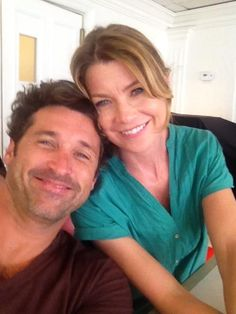 Patrick and Ellen - Greys Anatomy.....love these two and the whole cast....awesome show