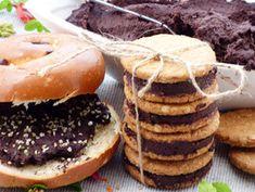 Nutella, Vegan Desserts, Bagel, Hamburger, Brunch, Healthy Recipes, Yummy Recipes, Yummy Food, Bread