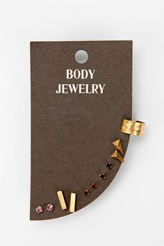 Teeny Tiny Stud Earring Set #UrbanOutfitters