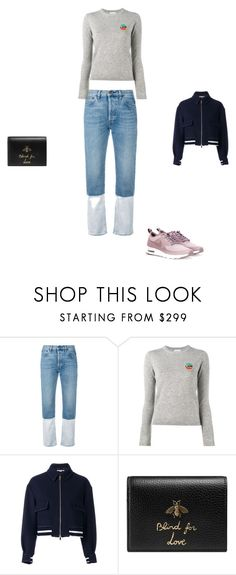 """""""Untitled #11248"""" by explorer-14576312872 ❤ liked on Polyvore featuring Ports 1961, Bella Freud, STELLA McCARTNEY, Gucci and NIKE"""