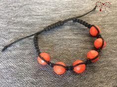 Brăţară Shambala, cu pietre semipreţioase din  howlite reconstruit, roşu faţetat. bijuterii.micky@gmail.com Beaded Necklace, Jewelry, Fashion, Jewellery Making, Moda, Pearl Necklace, Jewelery, Jewlery, Fasion