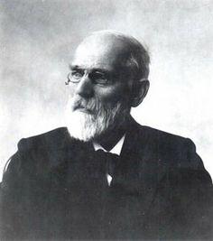 Johannes Diderik van der Waals. 1910 Physics Nobel Prize and solid beard man.
