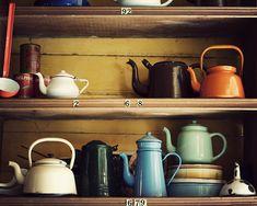 enameled coffee pots