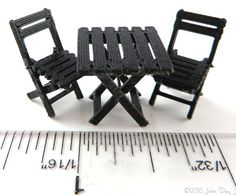 French Bistro Table and Chairs MC015