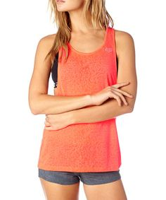 This Orange Shadowcat Muscle Tank is perfect! #zulilyfinds