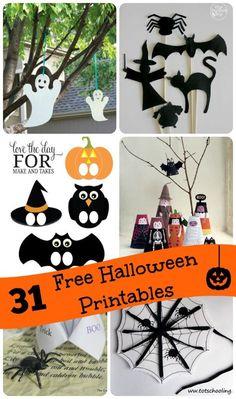 Free Halloween Activities for Kids